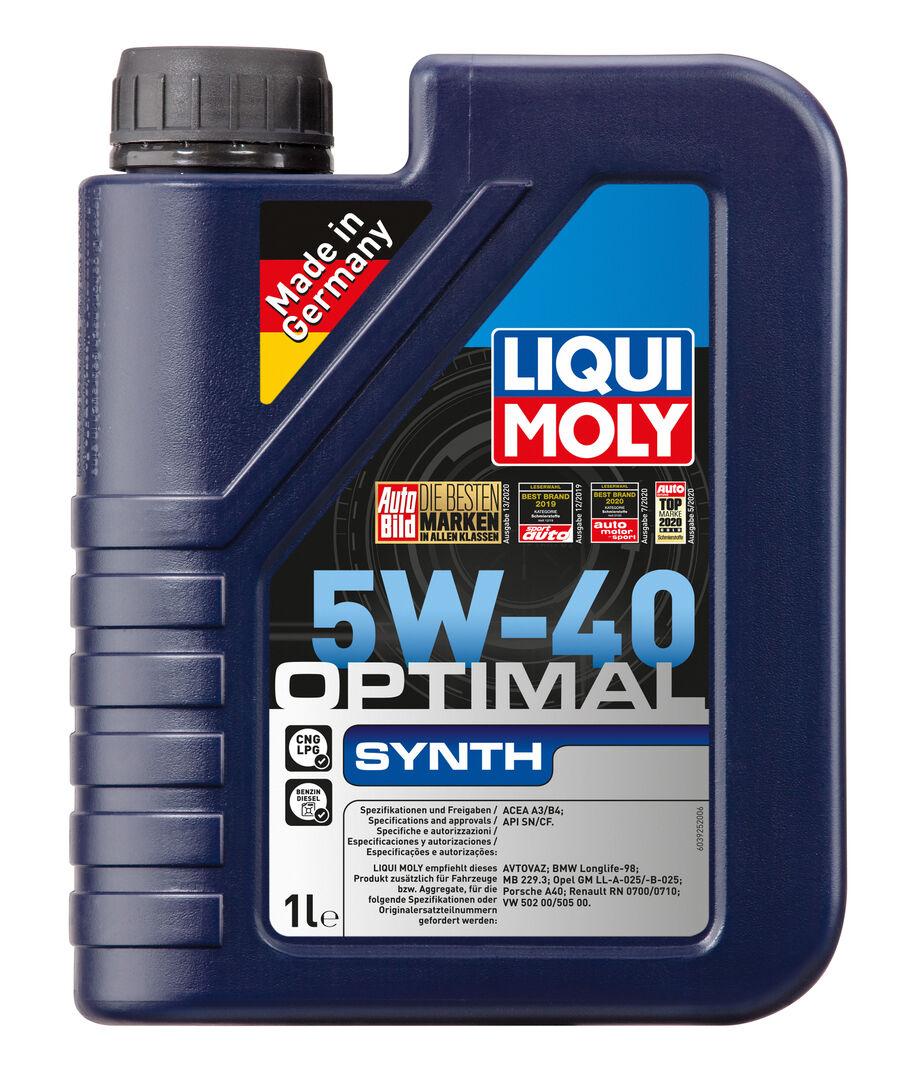 LIQUI MOLY Optimal Synth 5W-40 (нс/синт) 1л