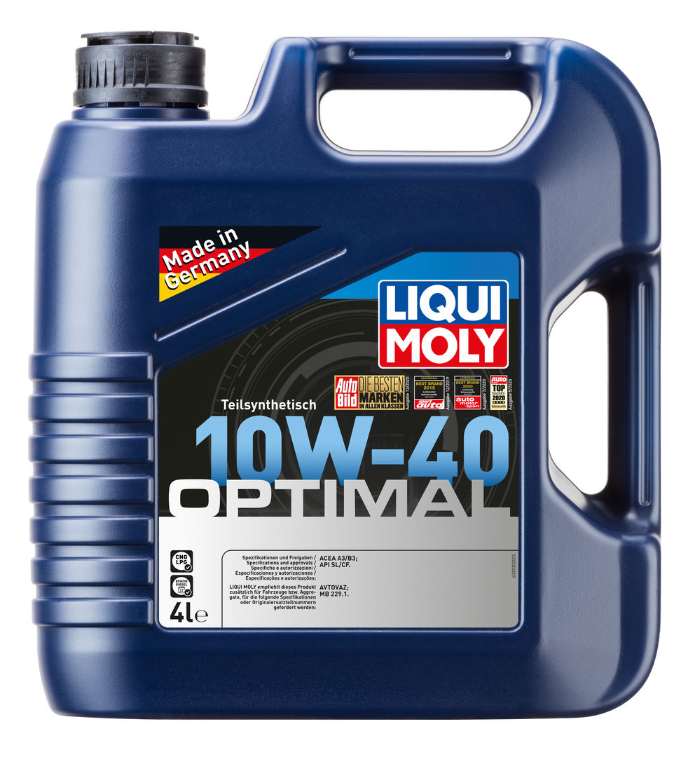 optimal 10w 40 liqui moly. Black Bedroom Furniture Sets. Home Design Ideas