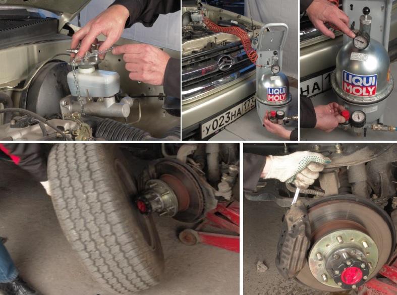 brakes howto - Чем смазывать тормозные цилиндры