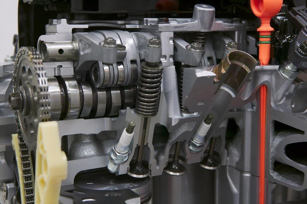 Муфта изменения фаз газораспределения современного двигателя