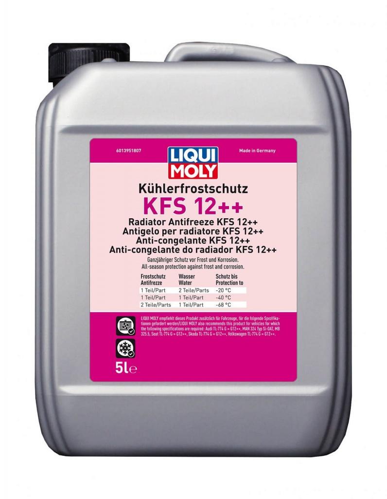 Антифриз-концентрат Kuhlerfrostschutz KFS 12++